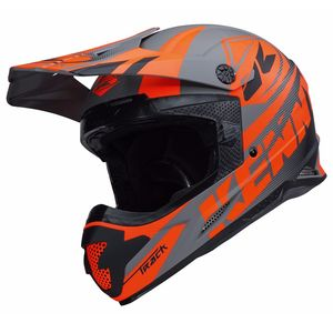 Casque Cross Kenny Track - Gris Mat - 2018