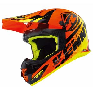 Casque Cross Kenny Track - Orange Fluo - 2018