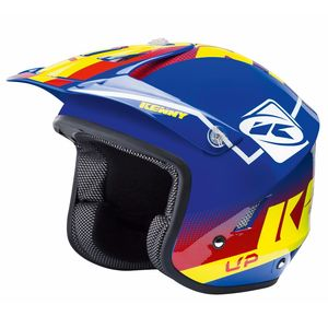 Casque trial TRIAL UP - BLEU ROUGE JAUNE 2019 Bleu/Rouge/Jaune