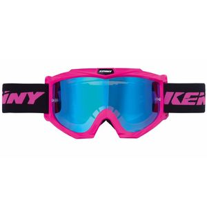 Masque cross TRACK + - ROSE FLUO 2021 rose fluo