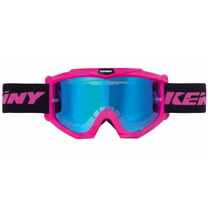 Masque cross KID TRACK + - ROSE FLUO  rose fluo