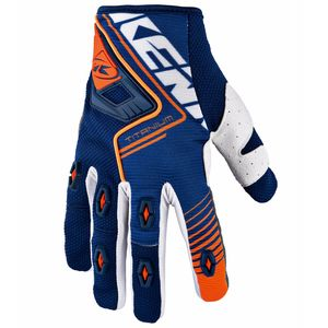 Gants Cross Kenny Titanium - Bleu Orange - 2018