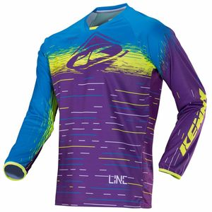 Maillot Cross Kenny Performance - Purple Lines - 2018