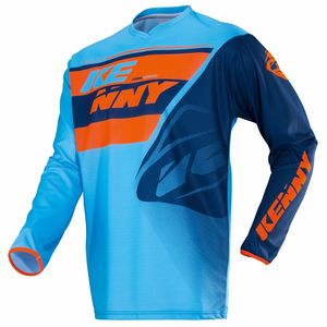 Maillot Cross Kenny Track - Bleu Orange - 2018