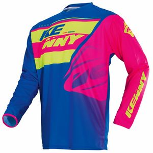 Maillot Cross Kenny Kid Track - Vert Rose - 2018