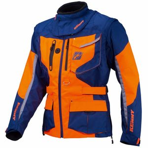 Veste Enduro Kenny Titanium - Bleu Orange - 2018