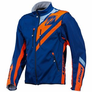 Veste Enduro Kenny Enduro Softshell - Bleu Orange - 2018