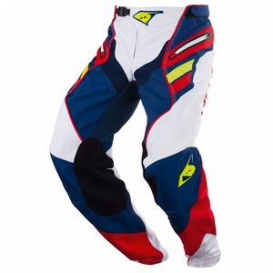 Pantalon Cross Kenny Titanium - Bleu Rouge - 2018