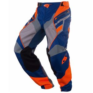Pantalon Cross Kenny Titanium - Bleu Orange - 2018
