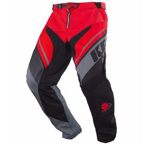 Pantalon Cross Kenny Kid Track - Gris Rouge - 2018