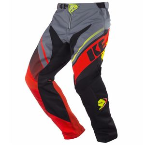 Pantalon Cross Kenny Kid Track - Gris Orange - 2018