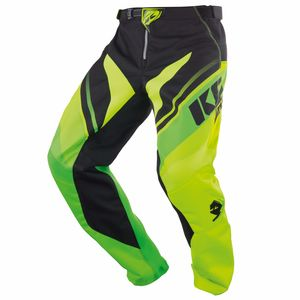 Pantalon Cross Kenny Kid Track - Vert Jaune - 2018