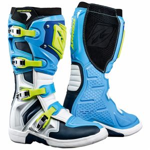 Bottes cross PERFORMANCE - BLEU 2021 Bleu