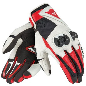 Gants MIG C2  Black/White/Red