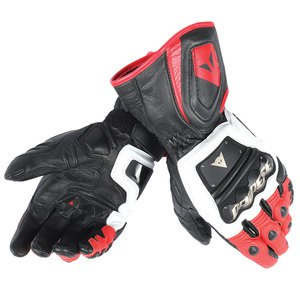 Gants Dainese 4 Stroke Long White Red Black