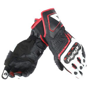 Gants CARBON D1 LONG  Black/White/Red