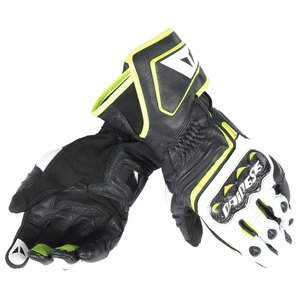 Gants CARBON D1 LONG  Black/yellow