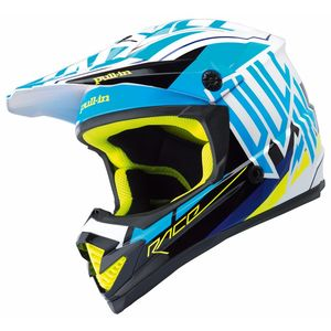Casque Cross Pull-in Moto - Bleu - 2018