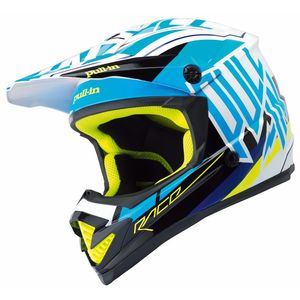 Casque cross MOTO KID - BLEU -  2018 Bleu