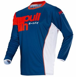 Maillot Cross Pull-in Race Navy 2019