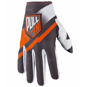 Gants Cross Pull-in Challenger Kid - Gris Orange - 2018