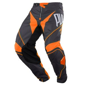 Pantalon cross CHALLENGER - GRIS ORANGE -  2018 Gris/Orange