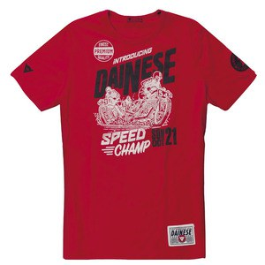 T-Shirt manches courtes SPEED CHAMP  Rosso