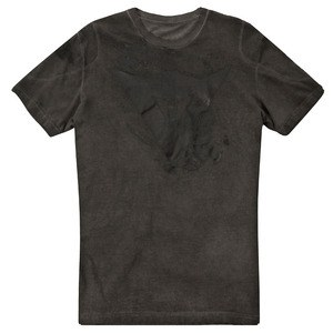 T-shirt manches courtes SCRATCH  Anthracite