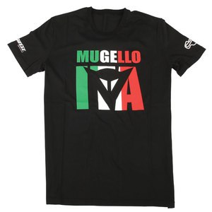 T-Shirt manches courtes MUGELLO D1  Black
