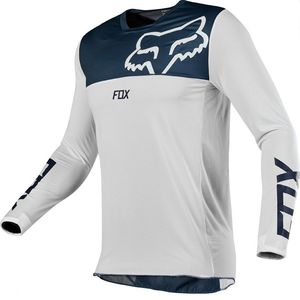 Maillot Cross Fox Airline - Navy White 2019