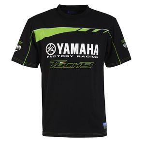 T-Shirt manches courtes KIDS CUSTOM - TECH3 MONSTER ENERGY - BLACK GREEN  Black Green
