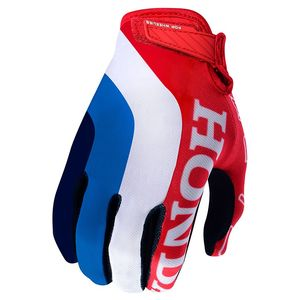 Gants cross AIR HONDA ROUGE/BLANC 2019 Rouge/Blanc