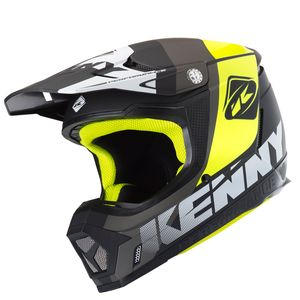 Casque cross PERFORMANCE GREY 2019 Gris