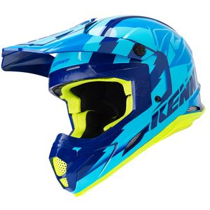 Casque cross TRACK NAVY SKY BLUE 2019 Bleu