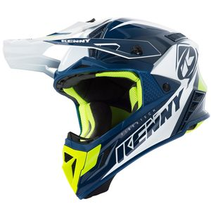 Casque cross TROPHY NAVY WHITE 2019 Bleu/Blanc