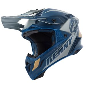 Casque cross TROPHY NAVY GOLD 2019 Bleu/Or