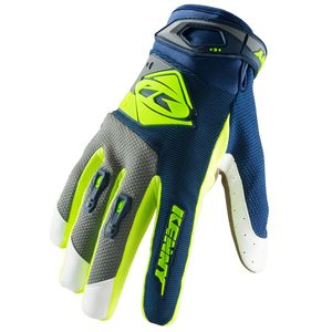 Gants cross TRACK NAVY LIME 2019 Bleu/Jaune