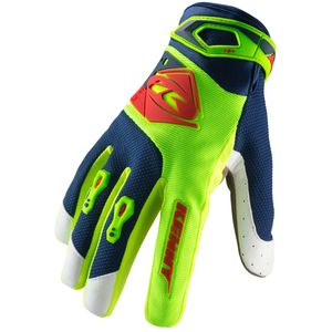 Gants cross TRACK LIME RED 2019 Jaune/Rouge
