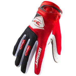 Gants cross TRACK RED ENFANT  Rouge