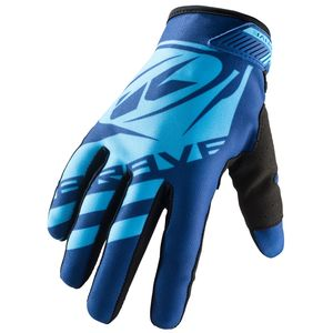 Gants cross BRAVE BLUE 2019 Bleu