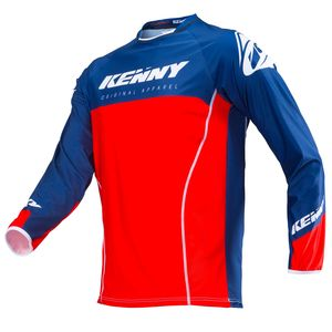 Maillot cross TITANIUM RED NAVY 2019 Rouge