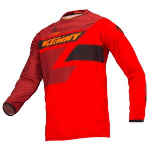 Maillot cross TRACK FULL RED 2019 Rouge