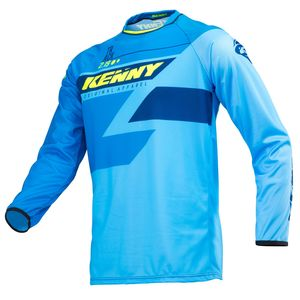 Maillot cross TRACK FULL BLUE 2019 Bleu