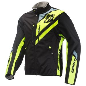 Veste Enduro Kenny Softshell Enduro Black Neon Yellow 2019