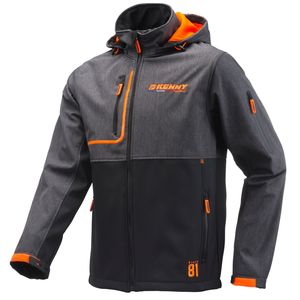 Veste SOFTSHELL RACING  Noir/Gris