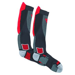 Chaussettes D-CORE HIGH SOCK  Black/Red