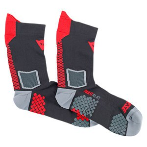 Chaussettes D-CORE MID SOCK  Black/Red