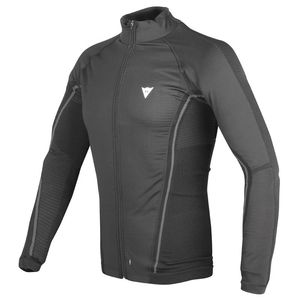 Maillot Technique D-CORE NO-WIND THERMO TEE LS  Black/anthracite