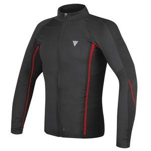 Maillot Technique D-CORE NO-WIND THERMO TEE LS  Black/Red