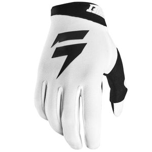 Gants cross WHIT3 AIR WHITE BLACK 2020 Blanc